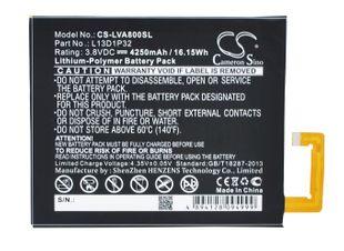 Lenovo IdeaPad A5500, IdeaPad A8, IdeaPad A8-50 Tabletin Akku
