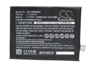 Lenovo IdeaPad A10-70, IdeaPad A7600-F, IdeaPad S6000 Tabletin Akku