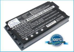 Medion MD95500, MD95292, RAM2010, RIM2000, MD95211, MD95292, ARIMA A0730, W812-UI akku 4400 mAh - Musta