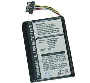 Medion MDPNA 150, MDPNA 175, MDPNA 470, MD95157, MD95243, MD95300, MD96220 Mobile GPS akku 1250 mAh