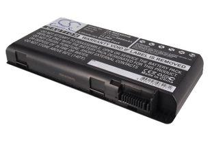 MSI GT660 akku 6600 mAh - Musta