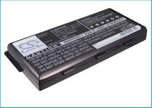 MSI MSI A5000, MSI A6000 akku 6600 mAh - Musta