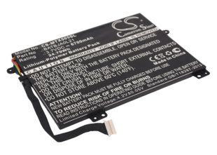 Cameron Sino tarvikeakku Motorola MZ505, Xoom 10.1, Xoom Family Edition Tabletin Akku