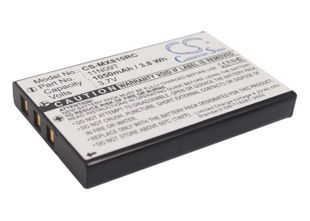 Universal MX-810, MX-810i, MX-880 Kaukosäätimen Akku