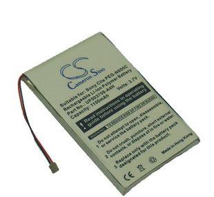 Sony Clie PEG-N600C, Clie PEG-N610, Clie PEG-N610C, Clie PEG-N710, Clie PEG-N750, Clie PEG-N750C, Clie PEG-N760, Clie PEG-N760C, Clie PEG-N770, Clie PEG-N770C akku 1100 mAh
