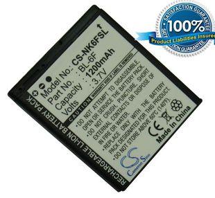 Nokia BL-6F yhteensopiva akku 1200 mAh
