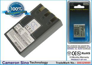 Canon NB-1L, NB-1LH, ER-D100 yhteensopiva akku 830 mAh