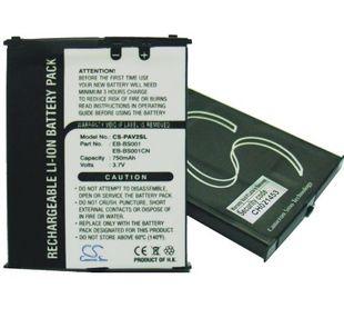 Panasonic VS2, VS3, VS6, VS7, VS6AWCK, EB-VS2,EB-VS3,EB-VS3VVZS,EB-VS6,EB-VS6AWCK, EB-VS7 akku 750 mAh