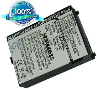 Panasonic MX6, MX7, SA6, SA7, EB-SA7 musta / tehoakku 1000 mAh