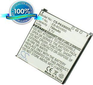 Panasonic X800, EB-X800 / musta akku 700 mAh