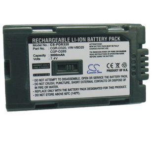 Hitachi  DZ-BP28 yhteensopiva akku 3300 mAh