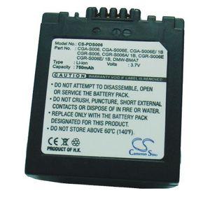 Leica BP-DC5-E yhteensopiva akku 750 mAh