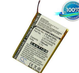 Sony NWZ-A720, NWZ-A726, NWZ-A728, NWZ-820, NWZ-A726, NWZ-A826, NWZ-A828, NWZ-A829, NWZ-A729BLK, akku 750 mAh