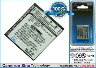 Samsung SLB-0837, SB-L0837 akku - 820 mAh