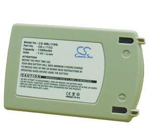Samsung SB-L70G, SB-L110G yhteensopiva akku 1300 mAh
