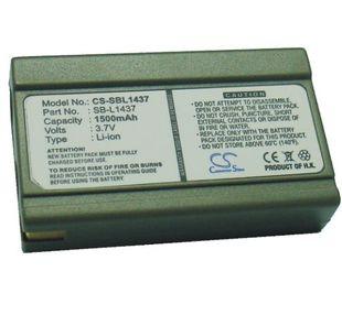 Samsung SB-L1437, SLB-1437 yhteensopiva akku 1500 mAh