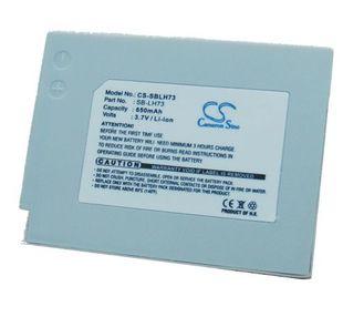 Samsung SB-LH73 yhteensopiva akku 650 mAh