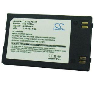 Samsung SB-P240A, SB-P240ABK, SB-P240ABC yhteensopiva akku 2400 mAh