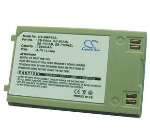 Samsung SB-P90A, SB-90ASL, SB-P90AB, SB-P90ASL yhteensopiva akku 1200 mAh