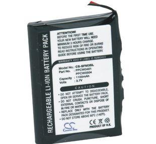 iAudio X5 20GB, X5 30GB, X5L 20GB, X5V 20GB, M5L 20GB, M5 20GB akku 1100 mAh