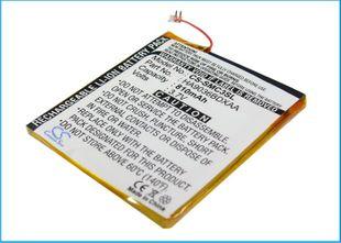 Samsung YP-CP3, YP-CP3AB/XSH (4G), YP-CP3, YP-CP3AB/XSH (8G), YP-CP3CB (4G), YP-CP3CB (8G) akku 810 mAh
