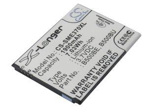 Samsung GT-i9190, Galaxy S4 Mini, GT-i9195 akku 1900 mAh (NFC tuella)