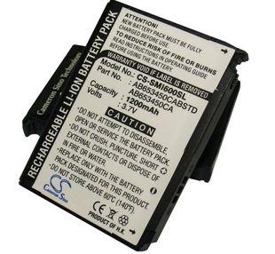 Samsung SGH-i607, SGH-i600, blackJack, SGH-I600V, I601 blackjack akku 1200 mAh