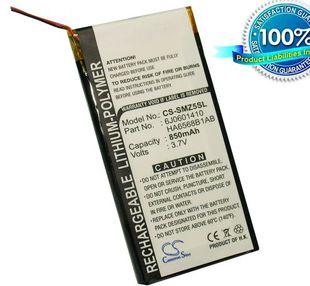 Samsung YP-Z5AS, YP-Z5A, YP-Z5AB, YP-Z5F, YP-Z5QB, YP-Z5QS, YP-Z5FZW/XSH, SEC-YP5Z akku 850 mAh