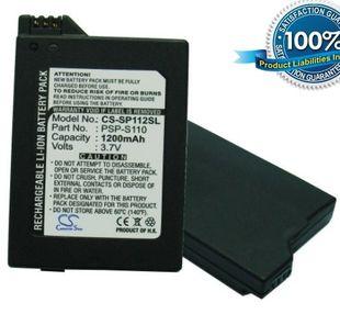 Sony PSP 2-Sukupolvi, Slim, Lite akku 1200 mAh