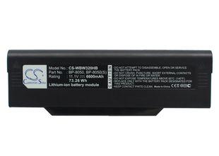 Fujitsu Amilo M1420, Amilo L1310 akku 6600 mAh