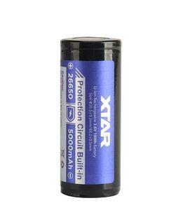 XTAR 26650 Akku suojapiirillä 5200 mAh