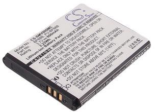Samsung MV900, MV900F, EC-MV900FBPWUS yhteensopiva akku - 600 mAh