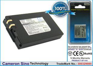 Samsung SLB-0837B, SLB-0837(B) yhteensopiva akku - 800 mAh