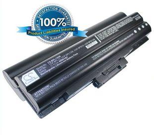 Sony VGP-BPL13, VGP-BPS13, VGP-BPS13/B, VGP-BSP13/S, VGP-BPS13A/B, VGP-BPS13A/S, VGP-BPS13B/B, VGP-BPS13B/Q   akku 6600 mAh musta