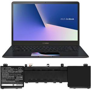 ASUS Zenbook Pro 15 yhteensopiva akku - 4400mAh