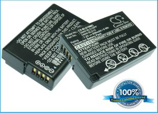 Panasonic DMW-BLD10, DMW-BLD10E, DMW-BLD10PP akku - 850 mAh