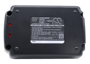 Black & Decker CST1200, CST800, LST136 Työkalun Akku