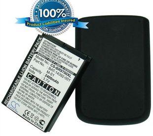 BlackBerry Bold 9700 tehoakku laajennetulla takakannella 2400 mAh