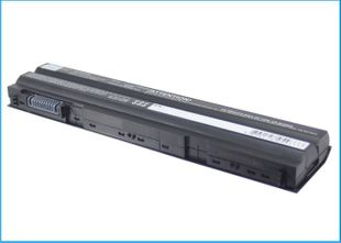 Dell Latitude E5420, E5520, E6120, E6220, E6320, E6420, E6420 ATG, E6520 akku 4400 mAh musta