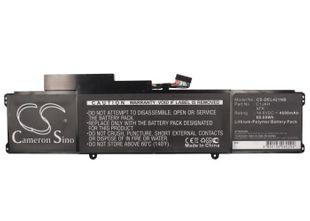 Dell XPS L421X Ultrabook Akku 4600 mAh - musta