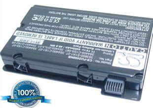 Fujitsu Amilo Pi2450, Amilo Pi2530, Amilo Pi2550, Amilo Pi3540, Amilo Xi2428, Amilo Xi2528, Amilo Xi2550 akku 4400 mAh