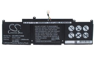 HP Chromebook 11, Chromebook 11 G1, Chromebook 11-1101 akku 2600 mAh