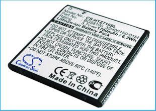 HTC Sensation, G14, Z710e, Z710T, Sensation XE, Z715E, Mytouch 4G Slide, Sensation 4G, S610d, Radar 4G, PI06110 yhteensopiva akku - 1700mAh