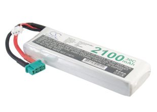 Li-Po akku, 2100mAh, 7,4V, Mini Tamiya