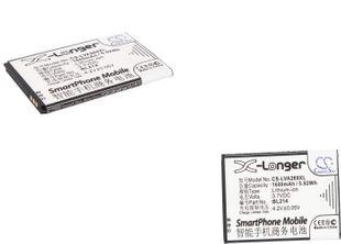 Lenovo A208t, A218t, A269 akku 1600 mAh