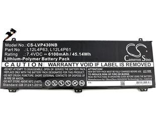 Lenovo IdeaPad U330 akku 6100 mAh - Musta