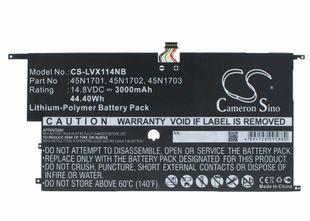 Lenovo ThinkPad X1 Carbon 14 / 20A7 / 20A8 akku 3000 mAh