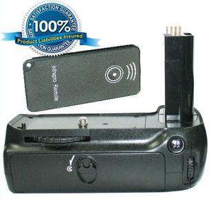 Nikon D80, D90 yhteensopiva akkukahva