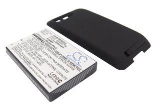 Cameron Sino tarvikeakku Motorola MB525 tehoakku erillisellä laajennetulla takakannella 2400 mAh