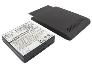 Cameron Sino tarvikeakku Motorola X701 tehoakku erillisellä laajennetulla takakannella 2300 mAh